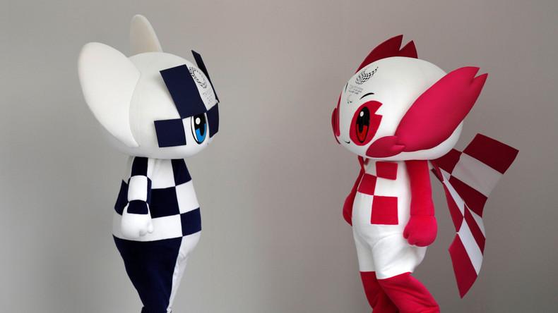 """Tokios Olympia-Maskottchen für 2020 heißen """"Miraitowa"""" und """"Someity"""""""