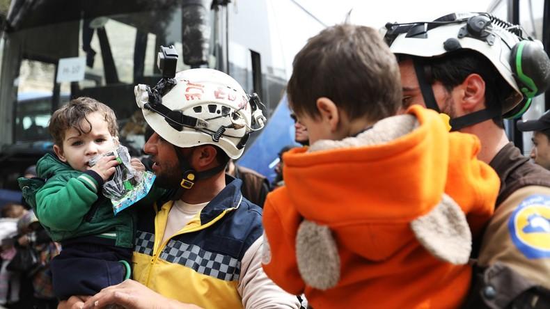 """Israel nimmt Al-Kaida-nahe """"Weißhelme"""" auf - Sie sollen nach Deutschland kommen"""