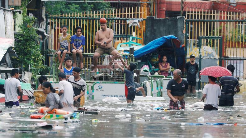 Zyklone fordert mindestens sechs Tote auf Philippinen