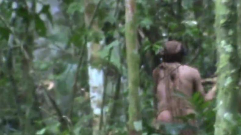 Brasilien: Letzter überlebender Indianer eines Amazonas-Stammes auf Video festgehalten