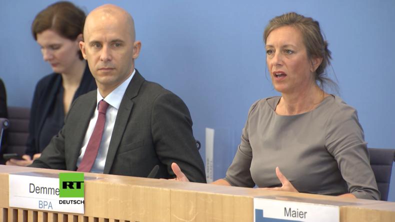 Regierungspressekonferenz: Özils Rücktritt für Kanzlerin politisch relevant?