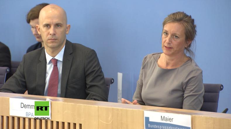 Regierungspressekonferenz: Nord Stream 2 ist ein Wirtschaftsprojekt