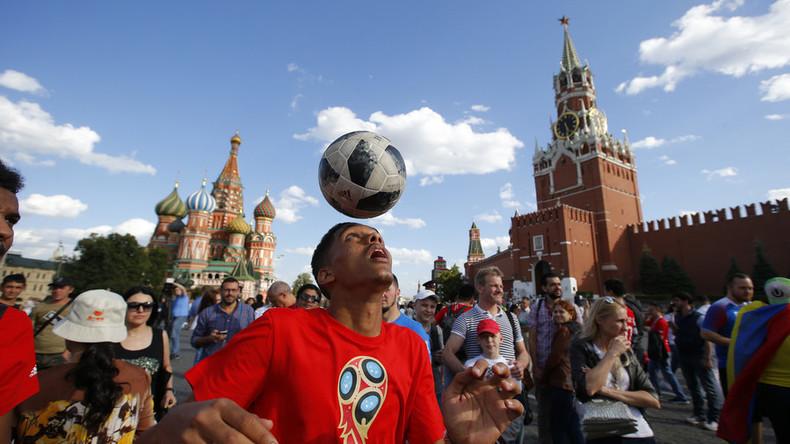 Ausländische Touristen gaben 1,6 Milliarden US-Dollar während der WM in Russland aus