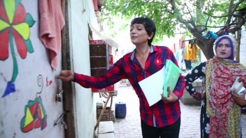 Parlamentswahl in Pakistan: Transgender stellt sich als Kandidatin