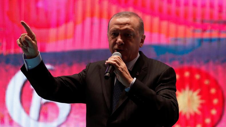 """Türkischer Präsident Erdoğan: """"Israel ist ein Terrorstaat und das rassistischste Land der Welt"""""""