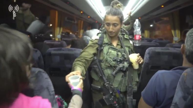 Israel veröffentlicht Aufnahmen von Evakuierung der Weißhelme aus Syrien