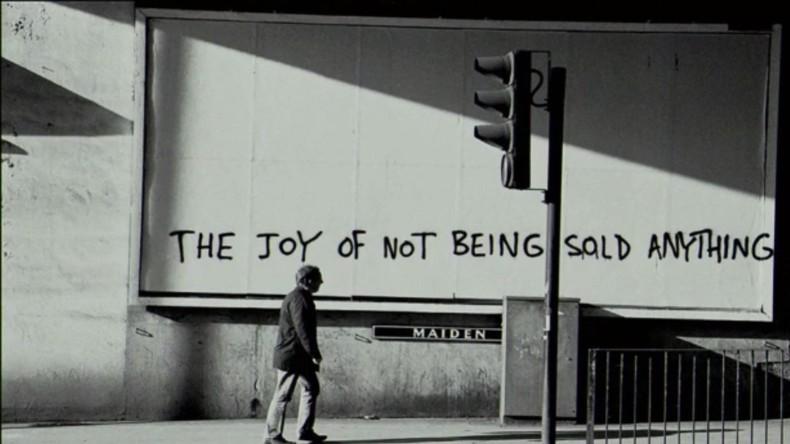 Jeder darf glauben, die Erde sei flach: Street-Art-Künstler Vermibus kritisiert Diktat der Werbung