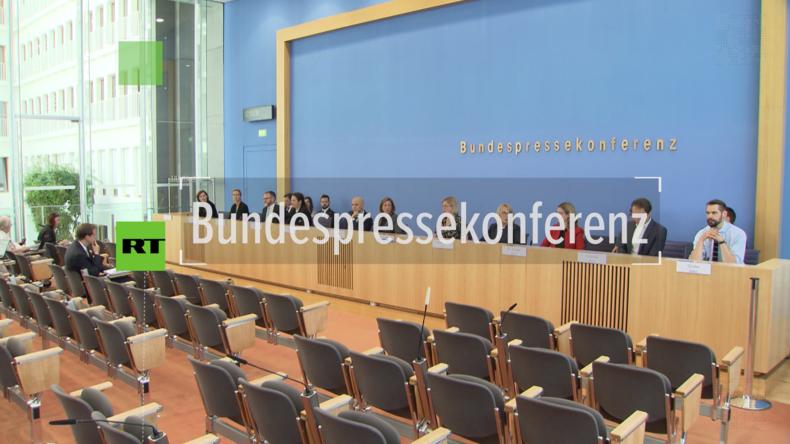 Regierungspressekonferenz: Treffen zwischen Merkel und Lawrow belebt Friedensprozess in Ukraine