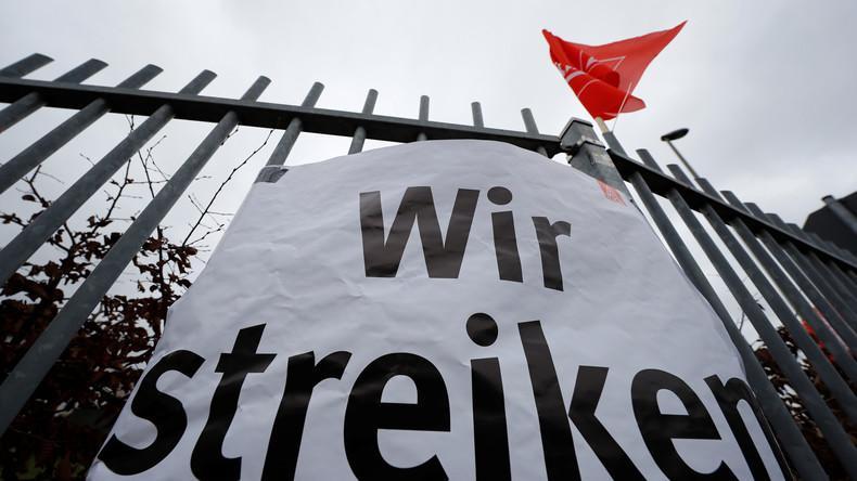 Eingeknickt im Arbeitskampf: IG Metall will Aufsehen erregenden Streik in Leipzig aufgeben