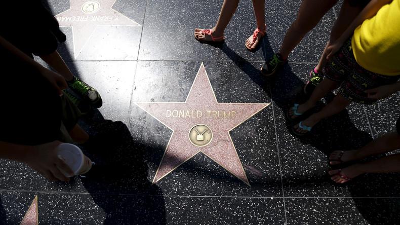 Hollywood-Stern von Trump zertrümmert - 24-Jähriger festgenommen
