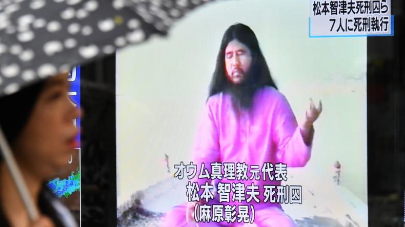 """Japan richtet sechs weitere Mitglieder der """"Aum""""-Sekte hin"""