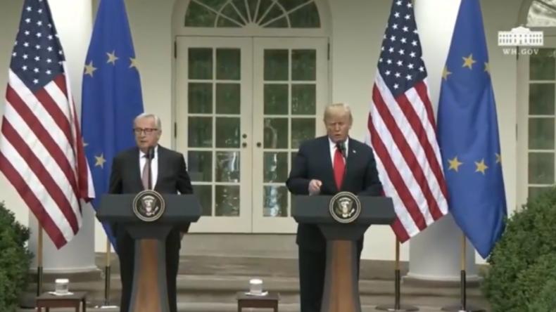 """Nach Trump-Drohung vor """"enormer Vergeltung"""": EU kauft nun mehr Flüssiggas aus den USA"""