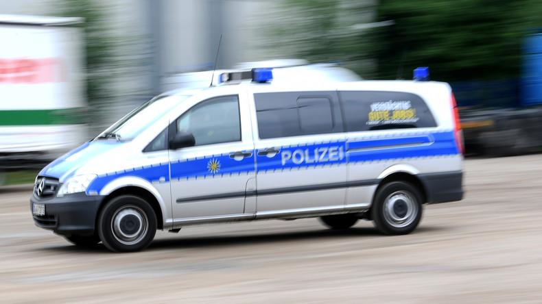 Polizei-Einsatz in Erfurt - Messerstecher mit Geisel auf der Flucht