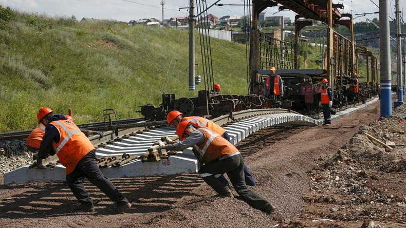 Russland baut gigantische neue Eisenbahnmagistrale zur Anbindung arktischer Regionen