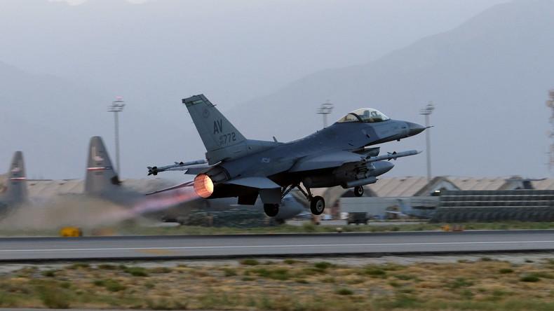 Bombenabwürfe der US-Luftwaffe über Afghanistan auf Rekordhöhe