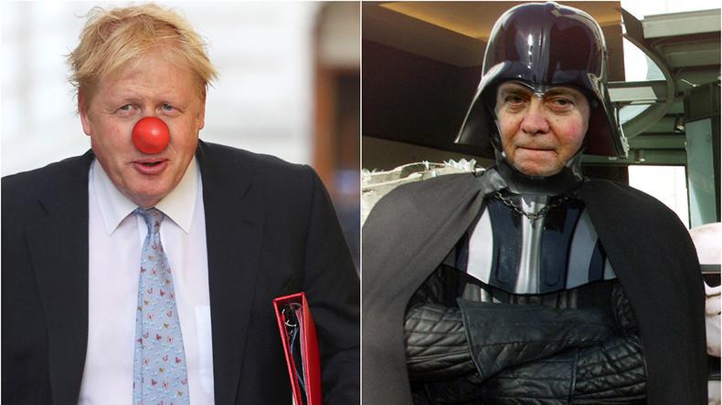 """Boris Johnson und Steve Bannon: Wenn der """"Politclown"""" mit """"Darth Vader"""" klüngelt"""