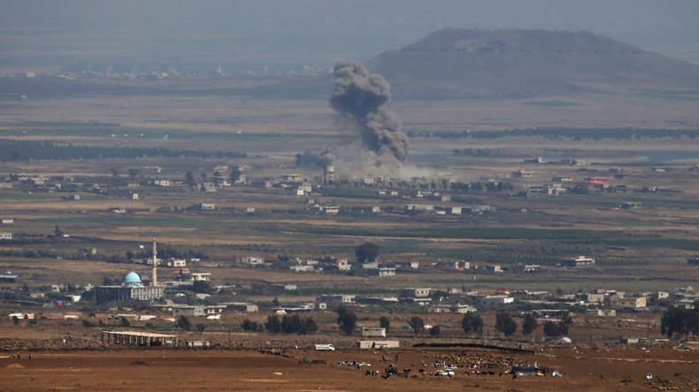 Syriens Armee übernimmt Ort an Trennlinie zu besetzten Golanhöhen