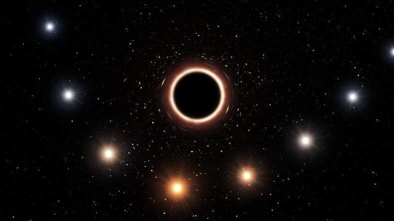 Messungen in der Milchstraße: Schwarzes Loch bestätigt Einstein