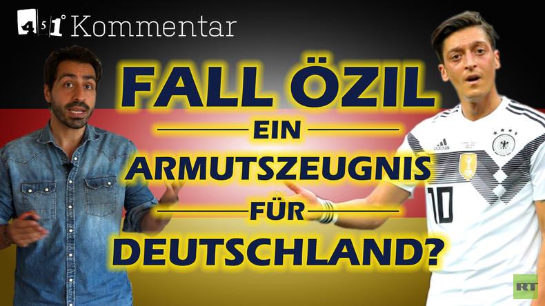 Der Fall Mesut Özil: Ablenkung von echten Problemen in Deutschland | KOMMENTAR 451 Grad