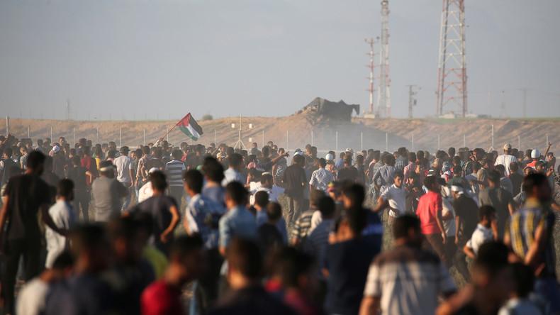 Drei Palästinenser sterben nach Konfrontationen an Gaza-Grenze