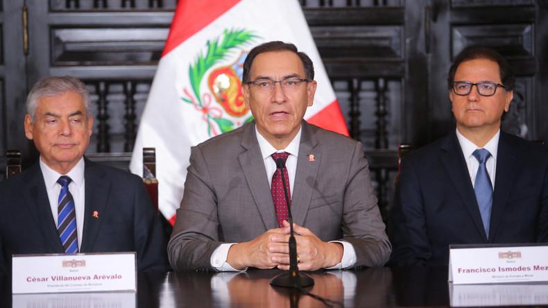 Perus Präsident kündigt Referendum über politische Reformen an