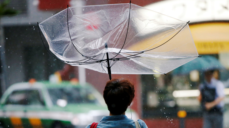 "Über 20 Verletzte in Japan durch Taifun ""Jongdari"""