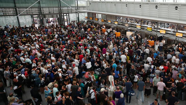 Sicherheitspanne am Münchner Flughafen: 330 Flugausfälle, über 32.000 Passagiere betroffen