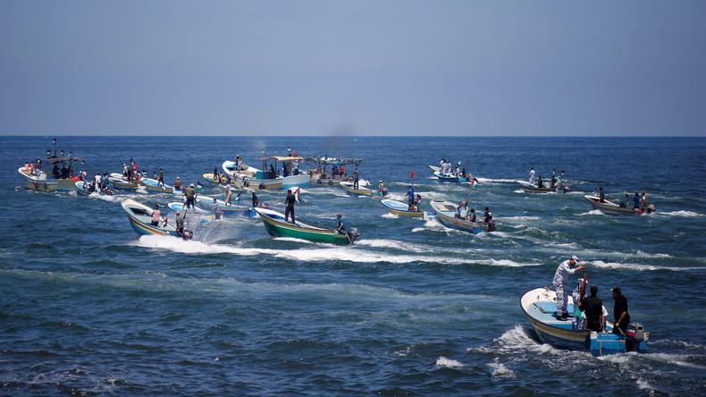 Israels Marine stoppt Solidaritätsschiff auf dem Weg nach Gaza