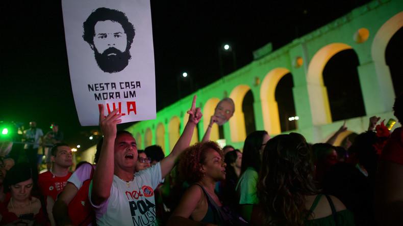 Tausende fordern in Brasilien Freilassung von Ex-Präsident Lula