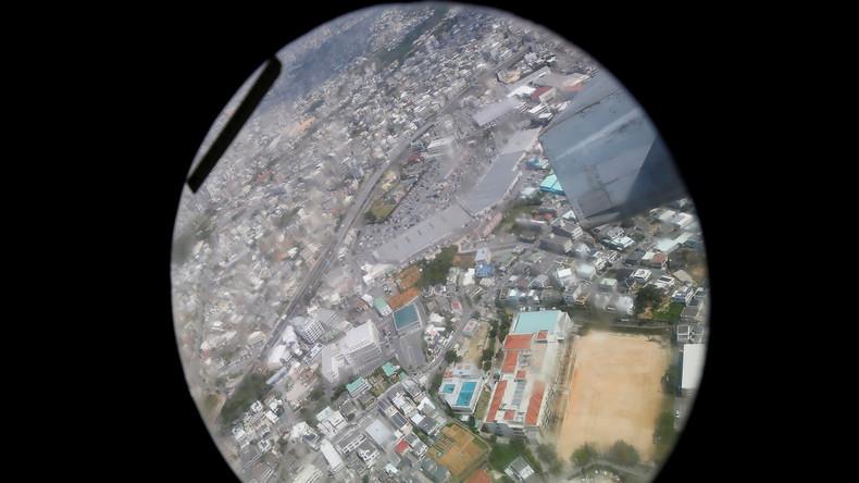 Wegen Lebensgefahr durch US-Militärflüge: Schutzräume für japanische Kinder auf Okinawa