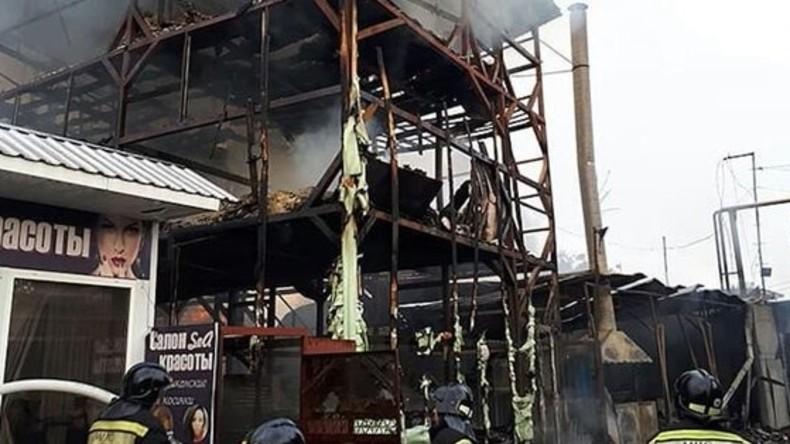 Mindestens acht Tote bei Hausbrand im südrussischen Sotschi