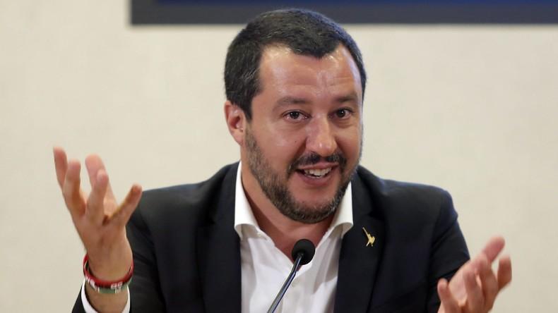 "Roma, Migranten, ""Mussolini-Zitat"": Salvini empört Kritiker, Umfragewerte steigen"