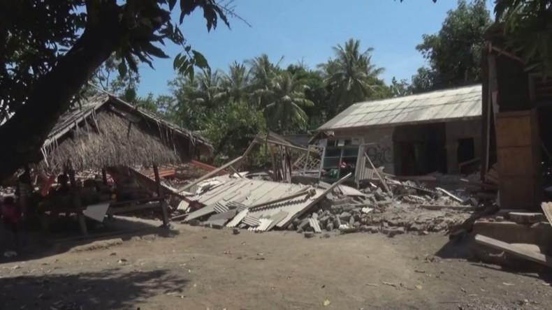 Indonesien: Erdbeben in Lombok zwingt Tausende zur Flucht