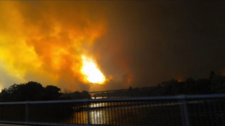 Kalifornien: Feuer breitet sich aus – Zahl der Todesopfer steigt auf sechs