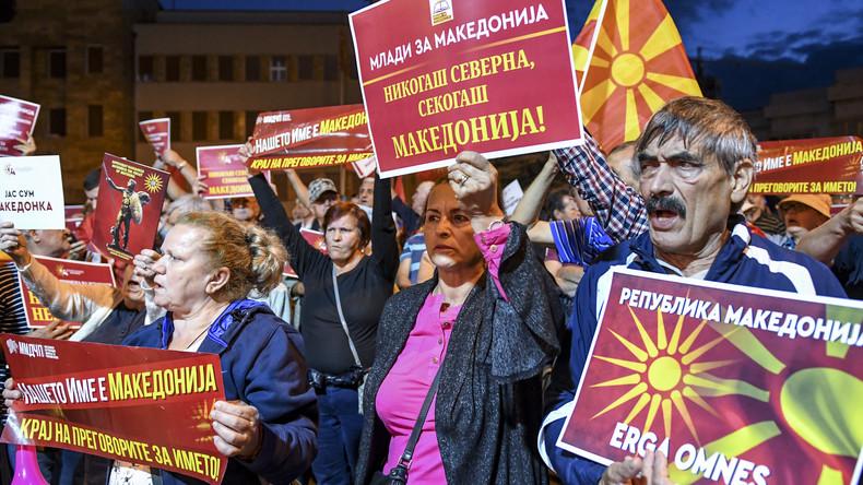 Mazedonien legt Termin für Referendum über Namensänderung fest