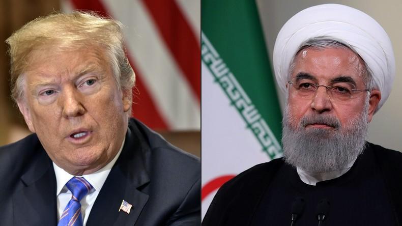 """Trump """"jederzeit"""" bereit zu Treffen mit Irans Präsident Rohani - """"ohne Vorbedingungen"""""""
