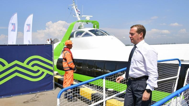Medwedew verkündet Abschluss der Integration der Krim in die Russische Föderation
