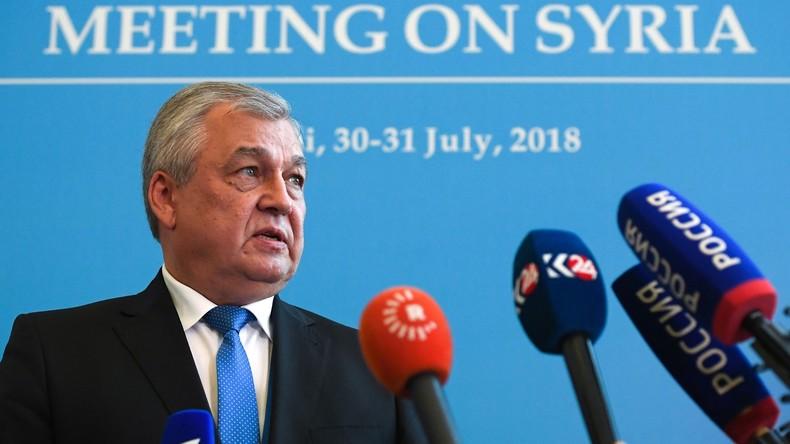 Syrische Verfassungsreform ist Top-Thema am ersten Tag der Sotschi-Gespräche