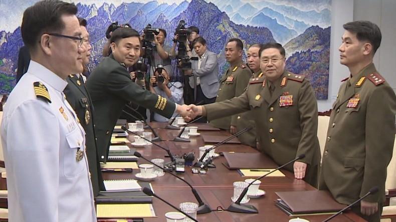 Spannungsabbau an innerkoreanischer Grenze: Gespräche zwischen nord- und südkoreanischen Generälen