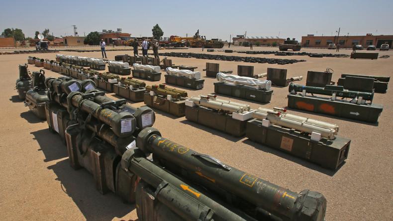 So geht Journalismus: Britischer Reporter verfolgt Waffen syrischer Rebellen bis zum Westen zurück