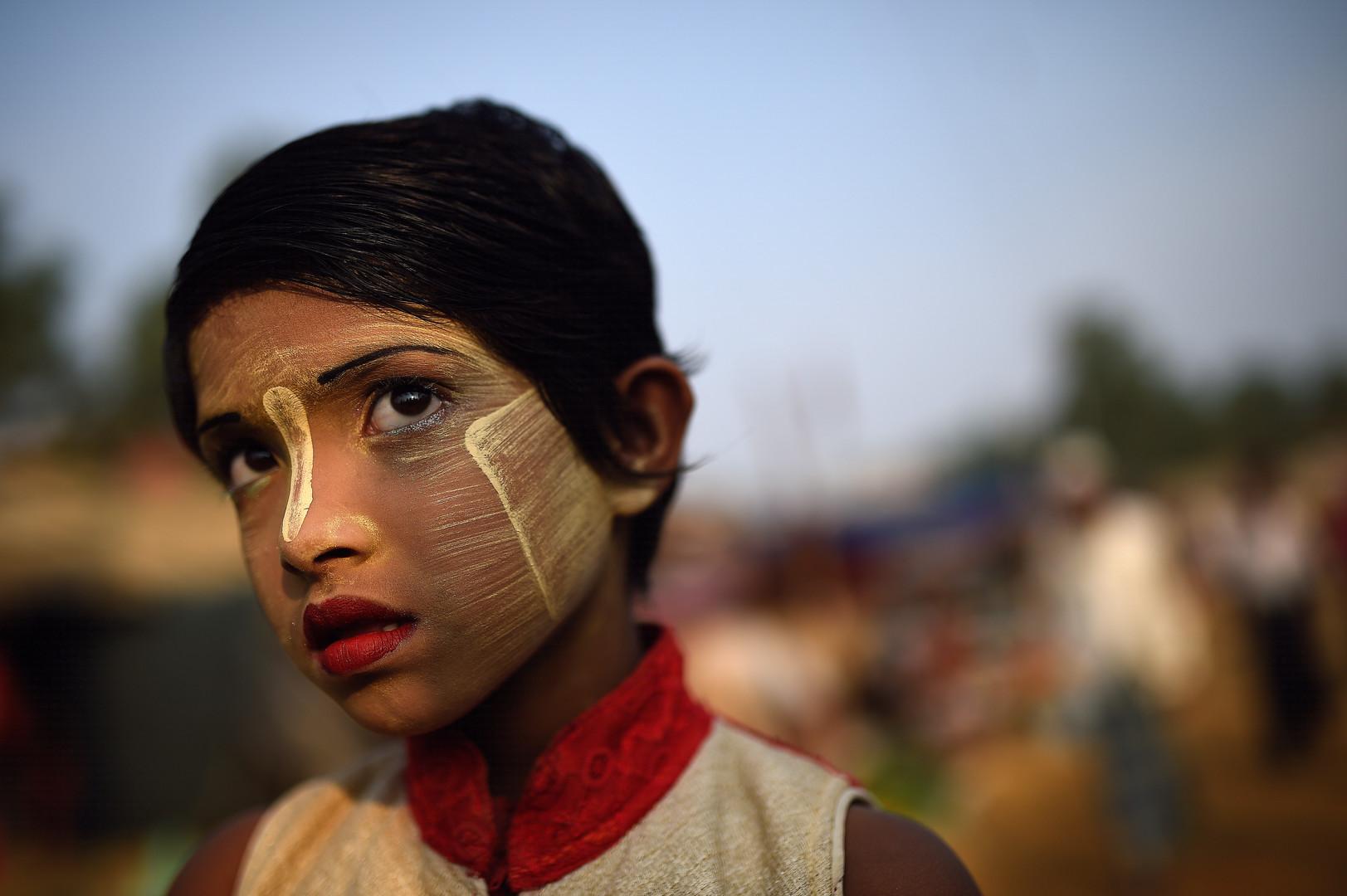 Rufia Begum, 9 Jahre alt, Balukhali Flüchtlingscamp, Cox Bazar, Bangladesch, 31. März 2018.