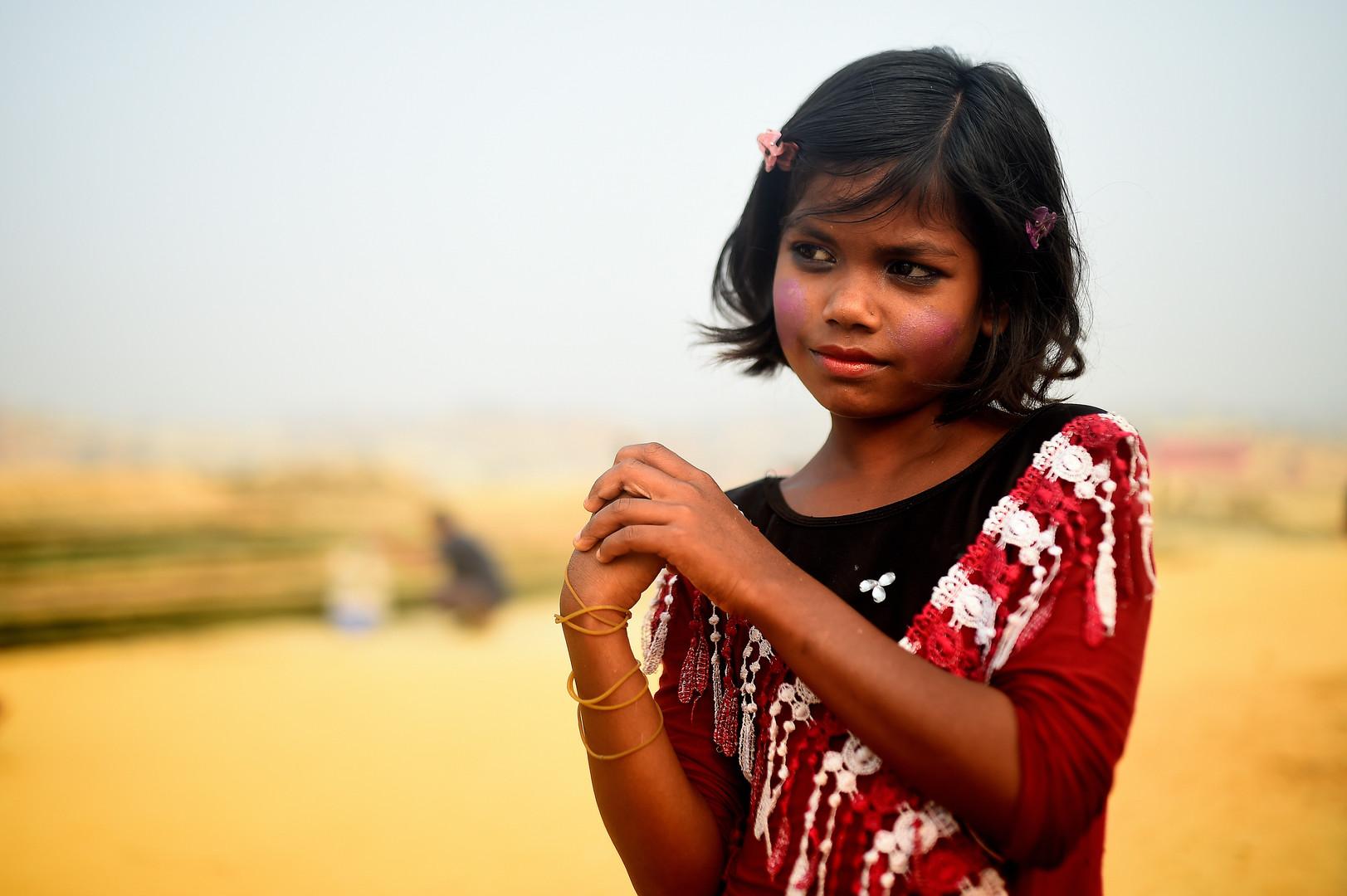 Dil Kayas, 10 Jahre alt, Kutupalong Flüchtlingscamp, Cox Bazar, Bangladesch, 3. April 2018.