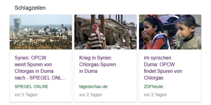 Giftgas in Duma: OPCW widerspricht westlichen Regierungen – Mainstreammedien verbreiten Fake News