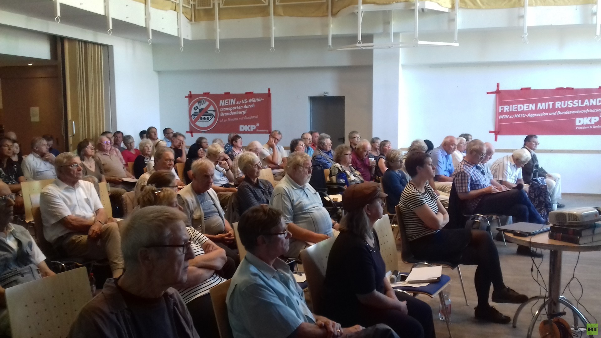 """Aktionskonferenz in Potsdam: """"Frieden mit Russland!"""""""