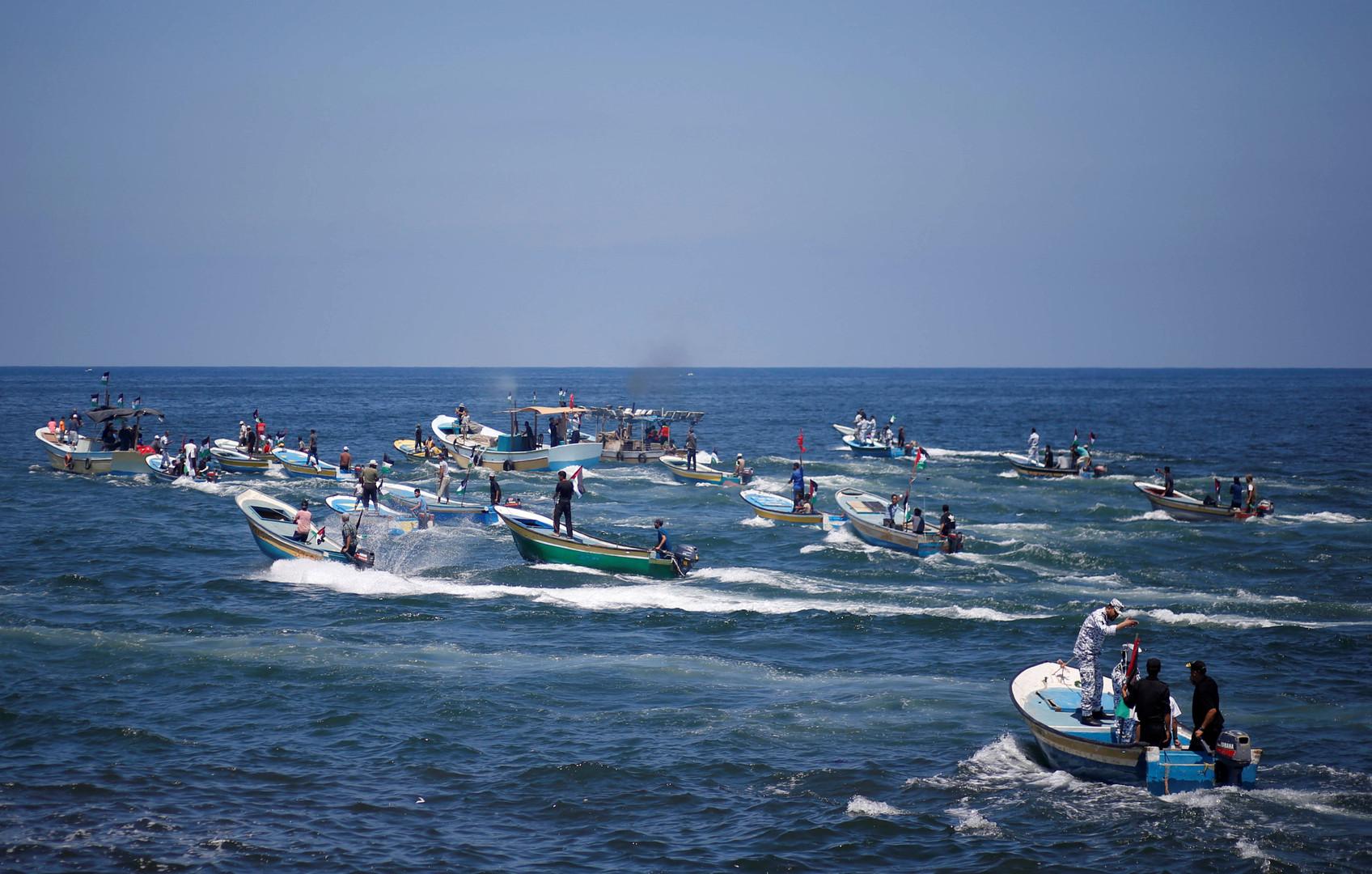 Palästinenser wollen Seeblockade von Gaza durchbrechen: Israels Marine fängt Boot ab