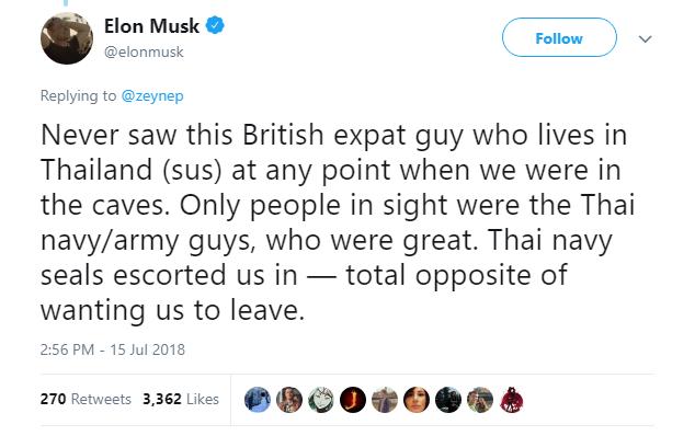 """""""Pädophiler Kerl"""": Elon Musk liefert sich bösen Streit mit Kritiker seines Mini-U-Bootes"""