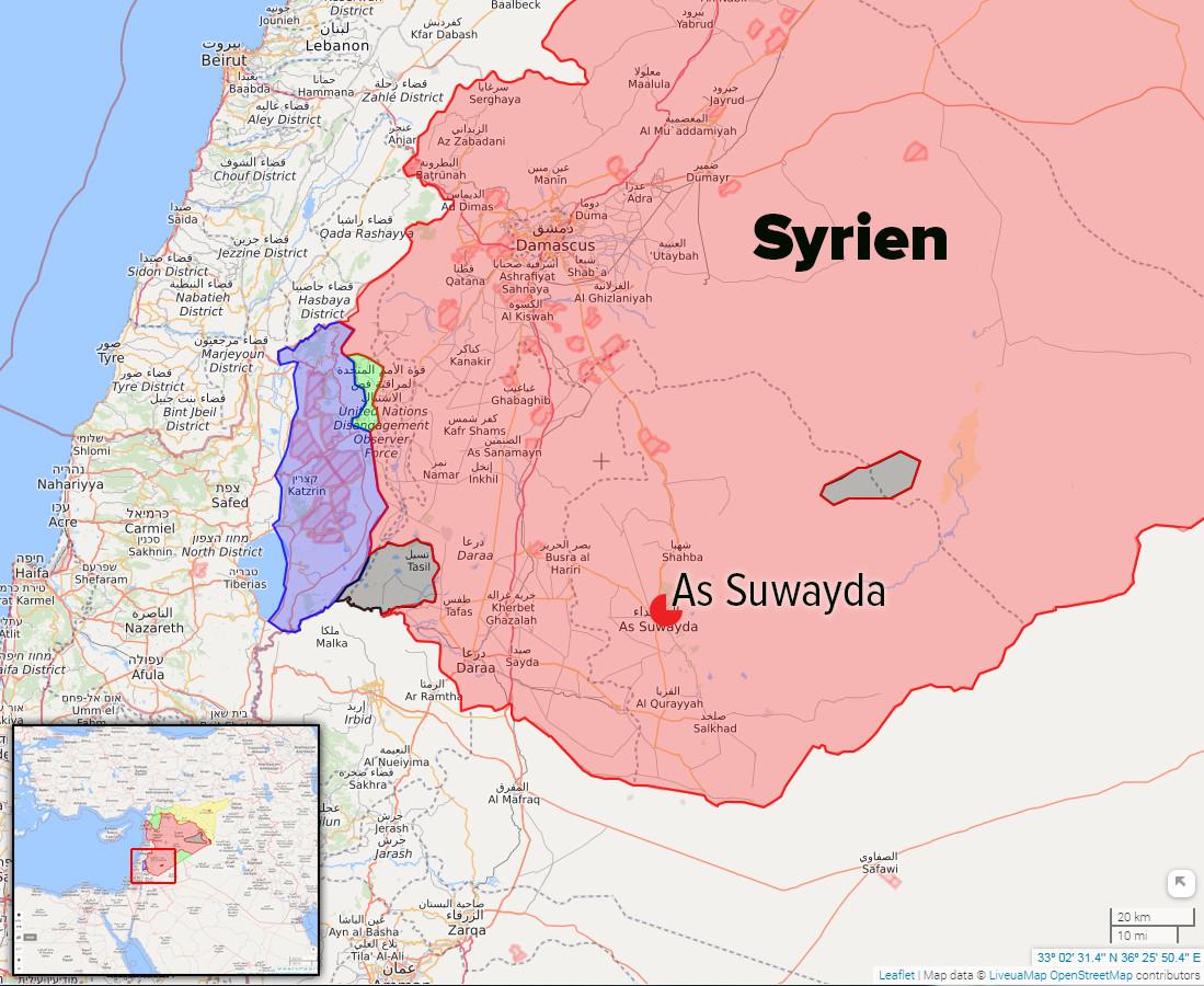 """Syrien: """"Islamischer Staat"""" massakriert bei Überraschungsoffensive über 300 Personen"""