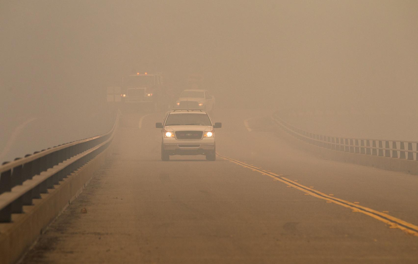 Fortschritte im Kampf gegen Buschbrände in Kalifornien