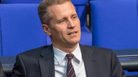 Petr Bystron im Deutschen Bundestag.
