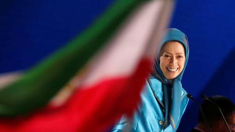 Maryam Rajavi, Präsidentin des NCRI, Villepinte, Frankreich, 30. Juni 2018.
